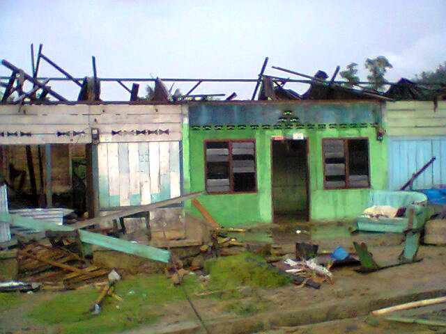 Rumah Warga Bencana Puting Beliung